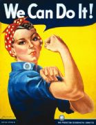 We can do it - Vintage American WW1 poster